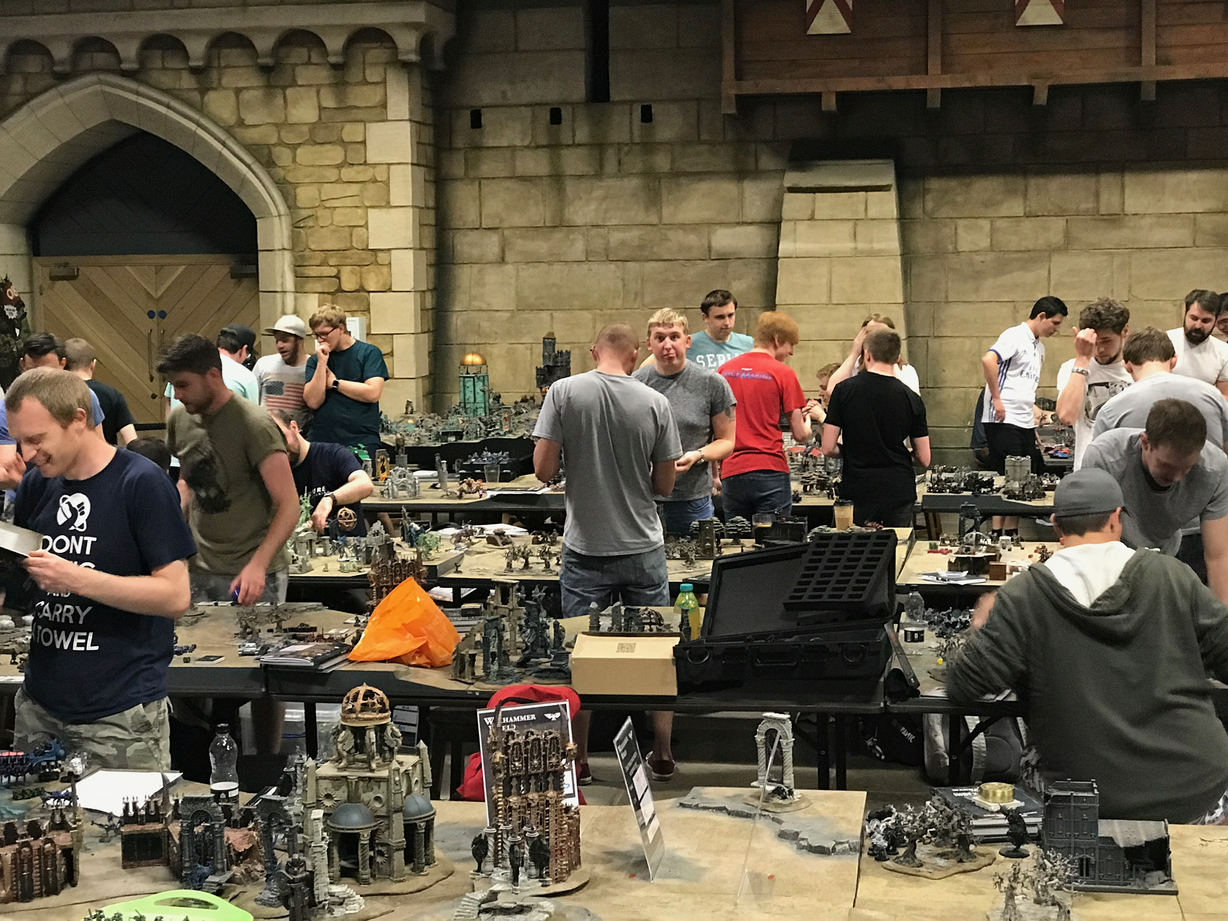 Warhammer World Doubles Tournament July 2017 The Kitchen