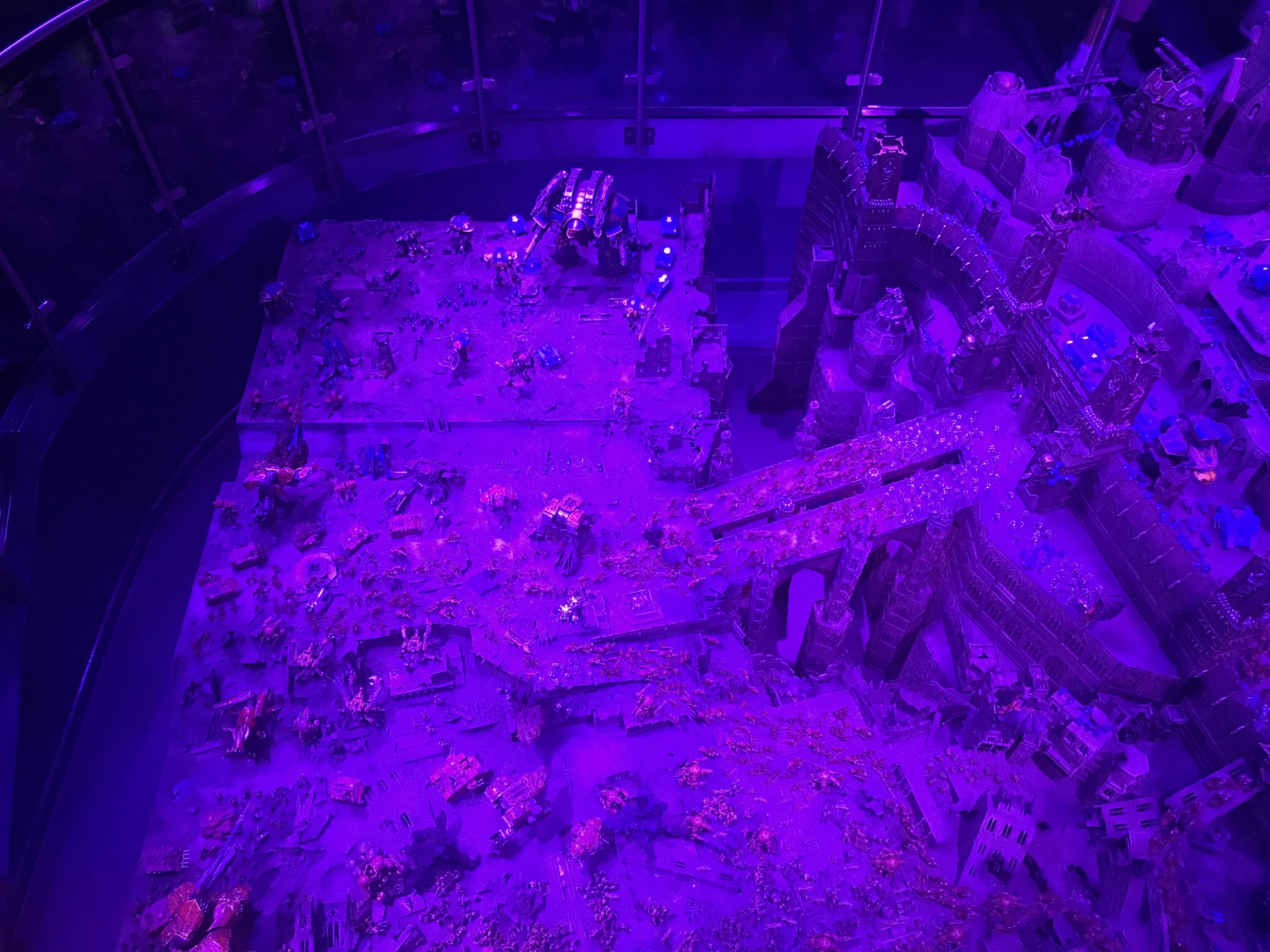 Warhammer World Mega Diorama – The Kitchen Sink